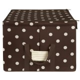 reisenthel Storagebox L mocha dots
